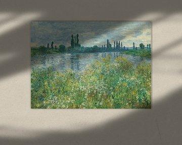 Banks of the Seine, Vétheuil, Claude Monet