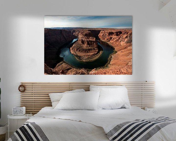 Sfeerimpressie: Horseshoe Bend, Arizona van Wim Slootweg