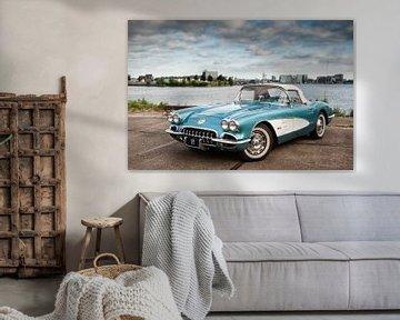 '59 Chevy Corvette sur Wim Slootweg