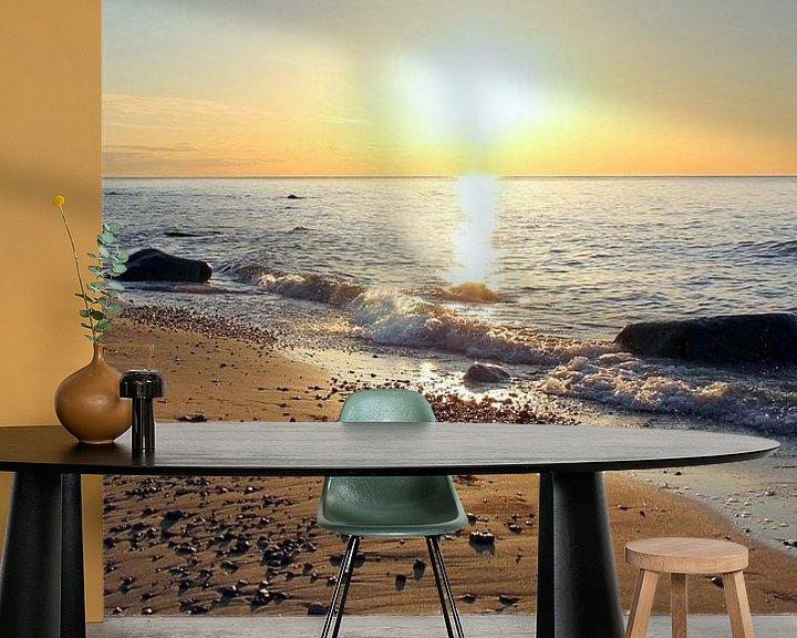Beispiel fototapete: Sunset von Ostsee Bilder