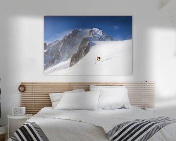 Freeride Mont Blanc van Menno Boermans