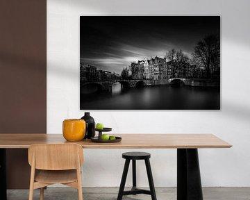 Donker Amsterdam van Martijn Kort