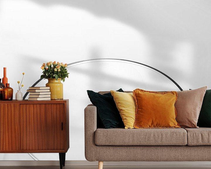 Sfeerimpressie behang: Wijnglas van Jan Nijeboer