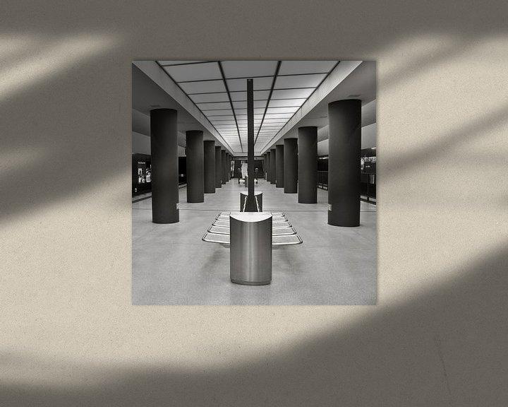 Impression: U-Bahnhof - Brandenburger Tor - Berlin-Mitte sur Silva Wischeropp