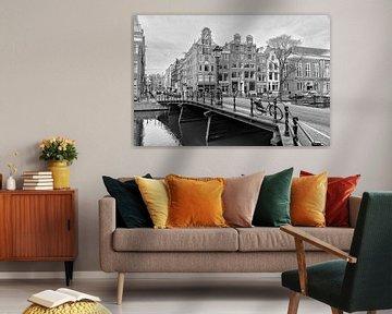 Kloveniersburgwal hoek Rusland in Amsterdam. van Don Fonzarelli