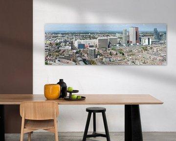 Skyline Den Haag 2 van Peter Schütte