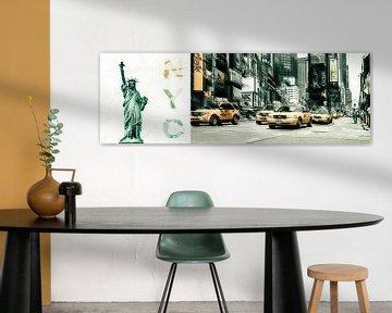 New York - Collage van Hannes Cmarits