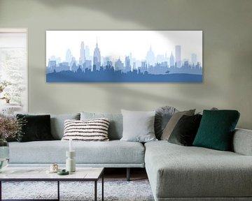 Blue City sur Harry Hadders