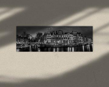 Panorama Herengracht Leidsegracht von Ardi Mulder