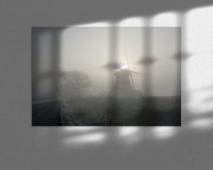 Beispiel: Molen in de ochtend von Marco Bakker