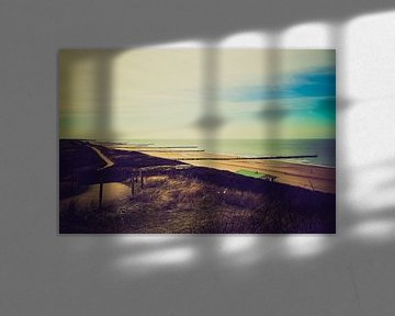Overzicht over de stranden bij Domburg van Fotografie Jeronimo