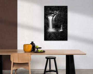 Rainforest waterfall van Richard Guijt Photography