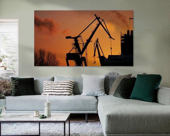 Sfeerimpressie: Am Dock 17 van Peter Norden