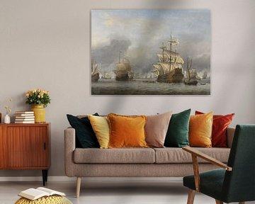 Seeschlacht Malerei - Die Eroberung des Königlichen Prinzen