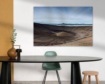 Krafla krater von Ab Wubben