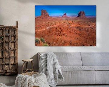 Image emblématique de Monument Valley, Arizona, USA sur Rietje Bulthuis