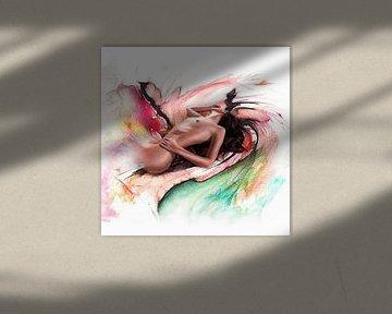 Colored passion 03 von Silvio Schoisswohl