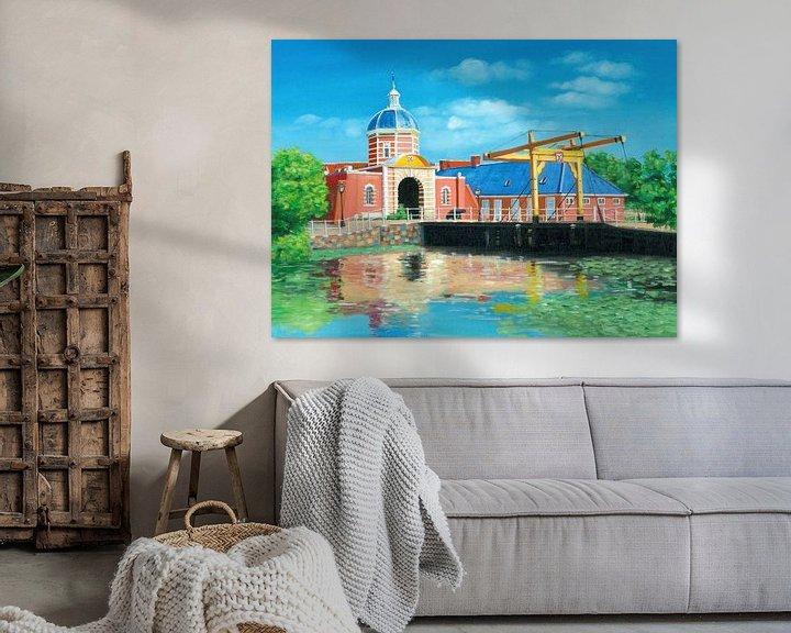 Beispiel: Leiden Morspoort Malerei von Kunst Company