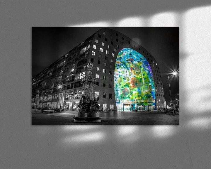 Sfeerimpressie: Markthal Rotterdam. van Timo  Kester