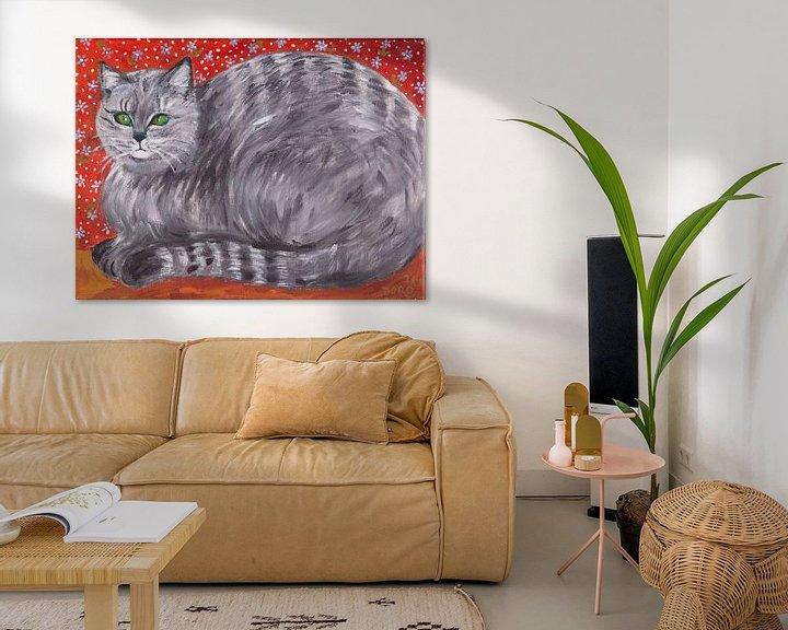 Beispiel: Tiger -Tilly von Dorothea Linke