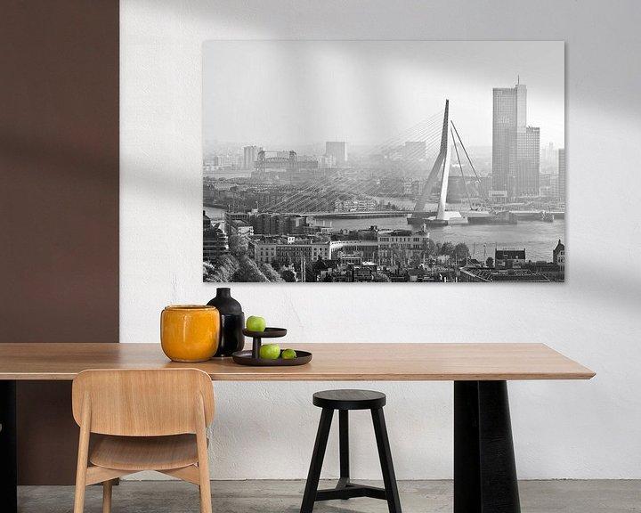 Sfeerimpressie: Ochtend in Rotterdam van Rob de Voogd / zzapback