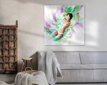Colored passion 06 von Silvio Schoisswohl