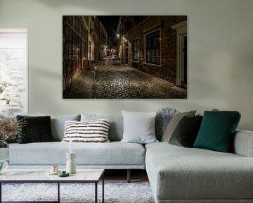Bergstraat in Deventer centrum von Ardi Mulder