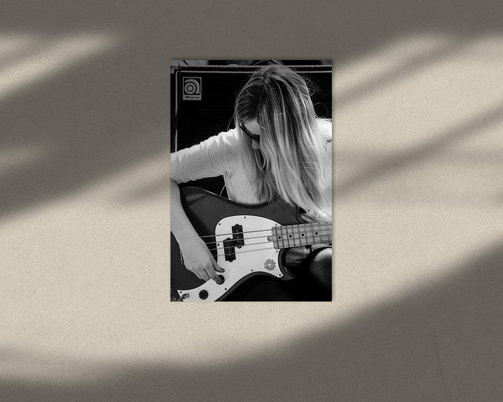 Sfeerimpressie: Onbekende bassist van Ton de Koning