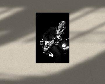 "Saxophoniste de  ""Get the blessing"""