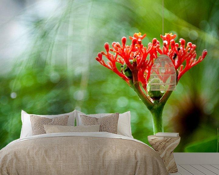 Sfeerimpressie behang: Tropische plant, Suriname van Ton de Koning