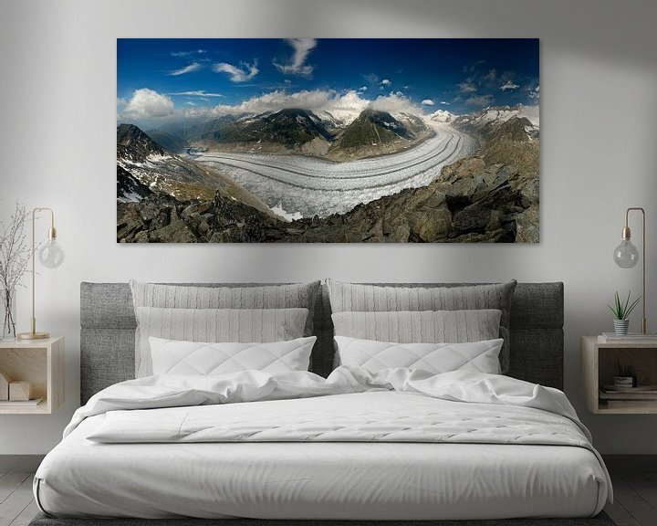 Impression: Aletsch gletsjer sur Sjoerd Mouissie