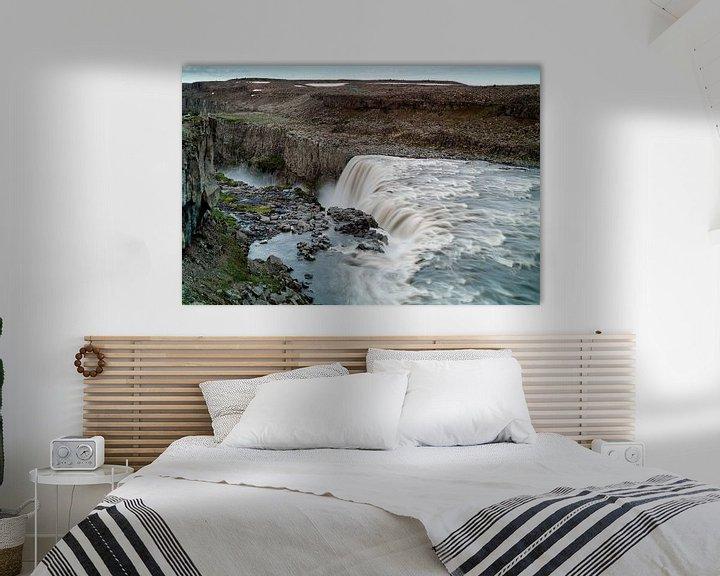 Sfeerimpressie: Dettifoss waterval van Ab Wubben