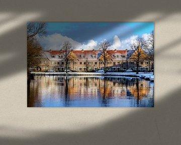 Winter reflectie van Yvon van der Wijk