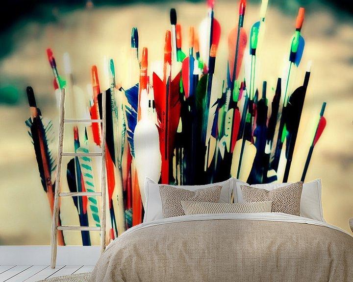 Beispiel fototapete: Arrows von 10x15 Fotografia