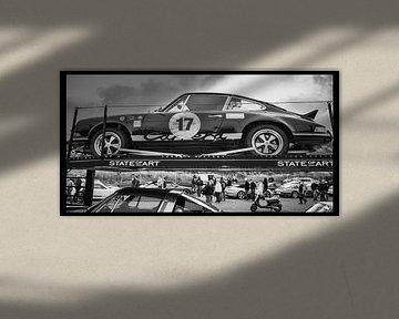 Porsche, Historic Grand Pix Zandvoort von Yvon van der Wijk