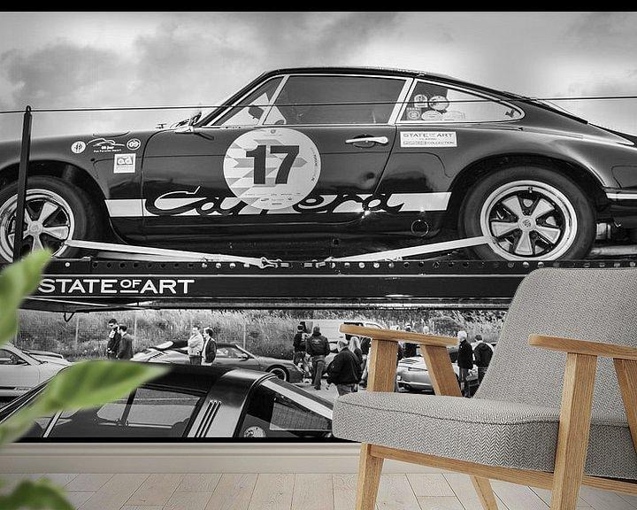Beispiel fototapete: Porsche, Historic Grand Pix Zandvoort von Yvon van der Wijk
