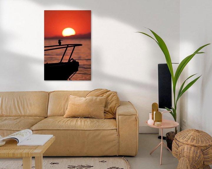 Sfeerimpressie: Ijsvogel sunset van Paul Jespers