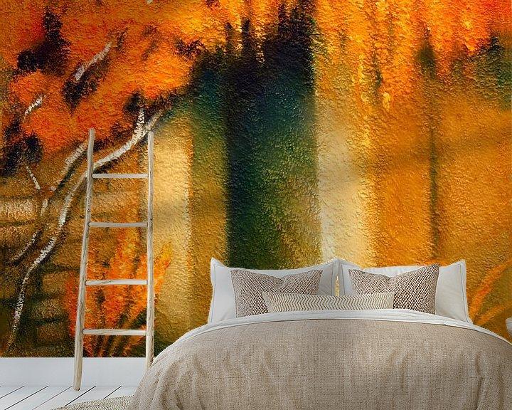 Beispiel fototapete: Mediterranes Licht gemalt von Marita Zacharias