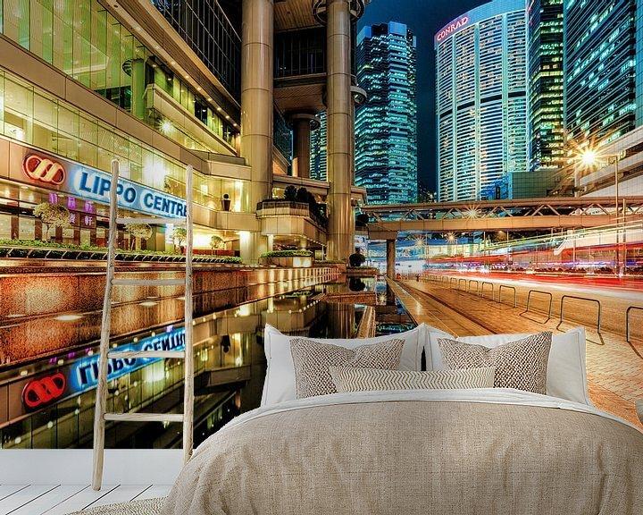 Sfeerimpressie behang: Financial Circus van Cho Tang