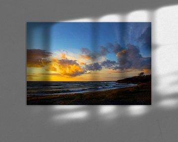 Sonnenuntergang an der Ostsee von Ostsee Bilder