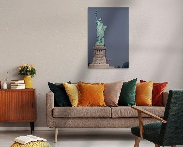 Sfeerimpressie: Vrijheidsbeeld New York Liberty Island van JPWFoto