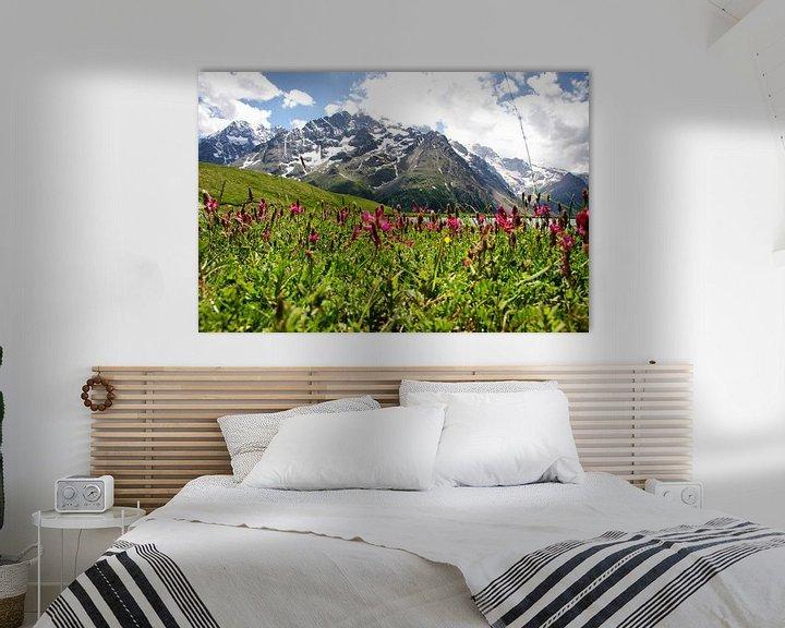 Sfeerimpressie: Distant Mountain van Stefan Kraan