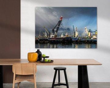 Port de Rotterdam  sur Ton de Koning