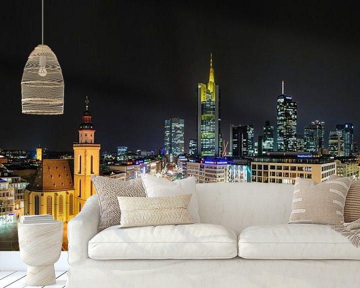 Impression: Frankfurt, skyline sur Sjoerd Mouissie