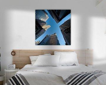 Empire State Building New York hoger dan hoog van JPWFoto