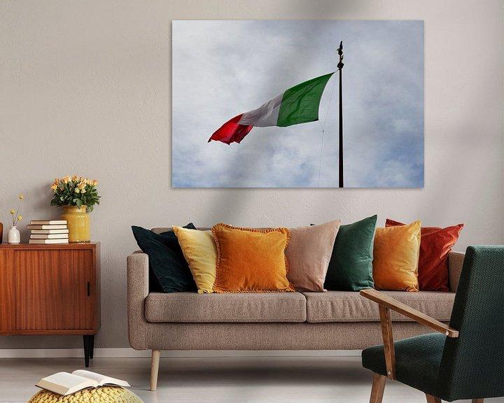 Sfeerimpressie: Italian flag van Jaco Verheul