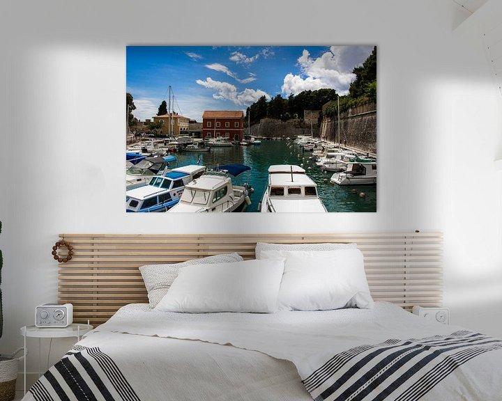 Beispiel: Yachthafen Zadar, Kroatien von Arthur Mul