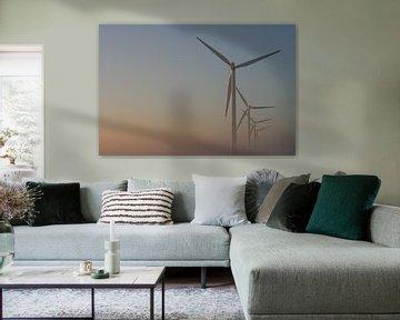 De windmolen van nu van Jan Mulder