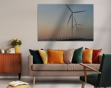 De polderse windmolen van Jan Mulder