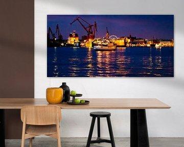 Göteborg Harbour - Nightly Cruise van Colin van der Bel